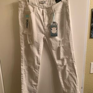Wax brand white skinny jeans sz 13, NWT never worn